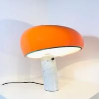 Flos Snoopy Lampada da Tavolo Arancione S Achille Castiglioni & Pier Giacomo