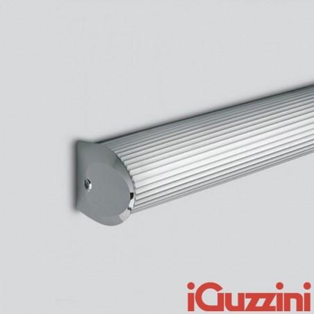 IGuzzini Simpla Applique Lampada Sopra Specchio 36W Per Bagni IP44 Finitura Cromata
