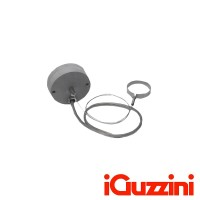 iGuzzini 5 Pole Power Supply Base With Cables For Single Horizontal Suspension