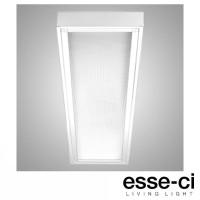 Esse-Ci ISE Plafoniera Lampada da Soffitto 4x18W T8 G13 IP40