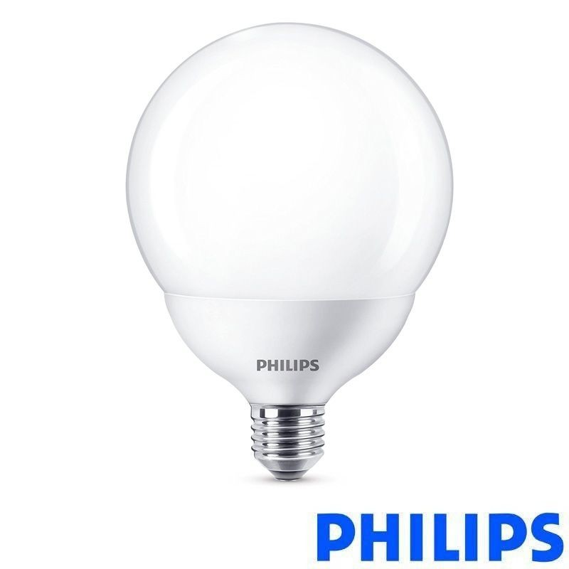 Philips LED E27 18W-120W G120 Globe 230V 2700K 2000 lm Opal Bulb