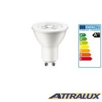 Philips Attralux LED GU10 3W-35W 2700K 230lm 36° Warm Light Bulb