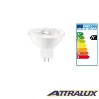 Philips Attralux LED GU5.3 4.5W-35W 2700K 345lm 36° Luce Calda Lampadina