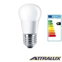 Philips Attralux LED E27 5.5W-40W 2700K 470lm Warm Light Bulb