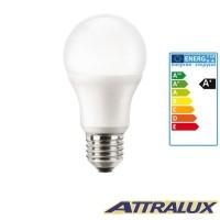 Philips Attralux LED E27 8W-60W 2700K 810lm Luce Calda Lampadina