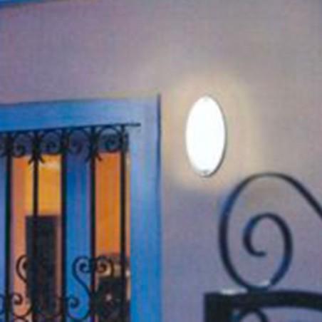 IGuzzini 7113 Ellipse Gray Applique E27 Ceiling Lamp For outdoor IP54