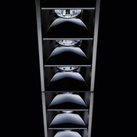 IGuzzini MK55 Laser Blade Bianco 15 LED 31W 4000K incasso faretto luce