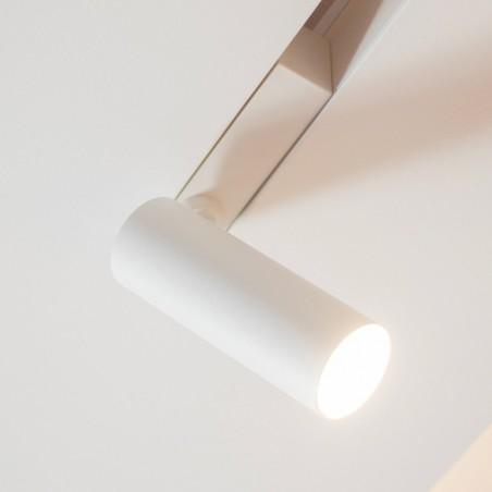 Logica Sistema Klik Klak Proiettore Cilindrico Magnetico Orientabile a LED per Binario