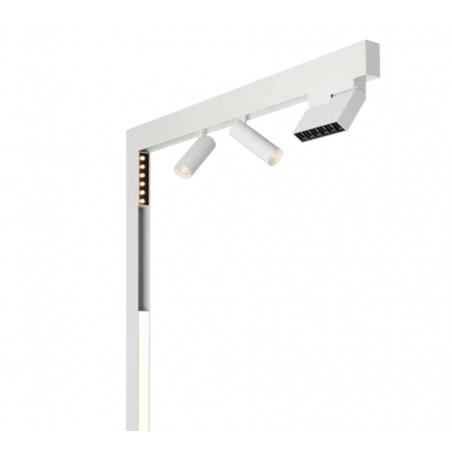 Logica Sistema Klik Klak Profilo Luce Diffusa Magnetico a LED per Binario