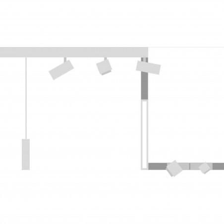Logica Sistema Klik Klak Staffe per Sistema Binario da Soffitto