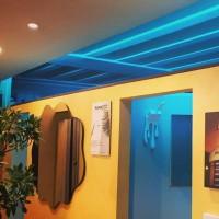 Lampo Tupo Striscia LED IP68 Smart RGB 12V 4W/metro 5 Metri Flessibili Compatibili Alexa e Google Assistant per esterno