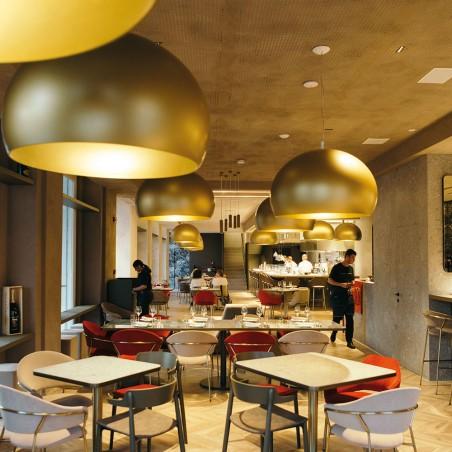 iGuzzini Conero S Lampada LED a Cupola da Sospensione by Luigi Massoni