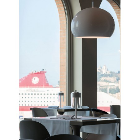copy of iGuzzini Conero M Lampada LED a Cupola da Sospensione by Luigi Massoni