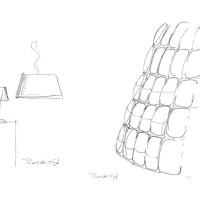 iGuzzini Sirolo Pendant S Lampada LED da Sospensione in Acrilico by Pio & Tito Toso