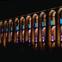IGuzzini BC27 Glim Cube LED RGB Cambia colore Applique Parete Esterno