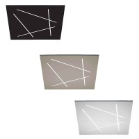 Vivida FLAT Ultra-flat LED Wall and Ceiling Square Lamp with Light Cuts