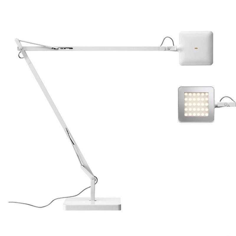 Flos Kelvin LED Base Lampada da Tavolo Bianco Dimmer