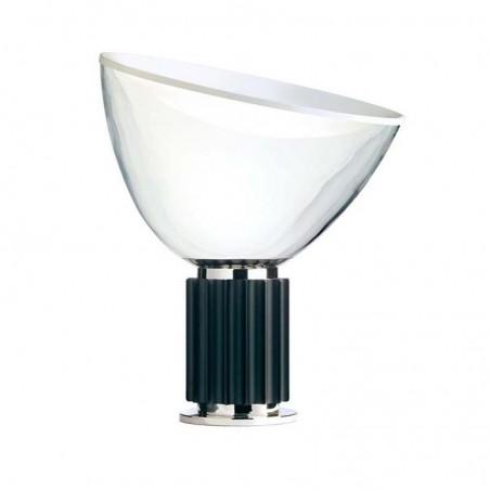 Flos Taccia (PMMA) LED 28W Lampada da Tavolo Nero Dimmer By Castiglioni