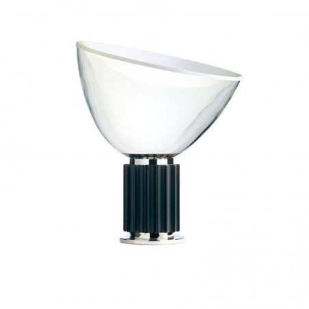Flos Taccia Small LED 16W Table Lamp Black Dimmable By Castiglioni