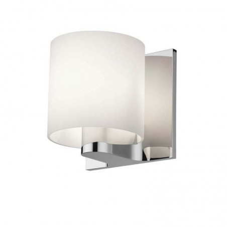 Flos Tilee Applique Wall Lamp Chrome/White
