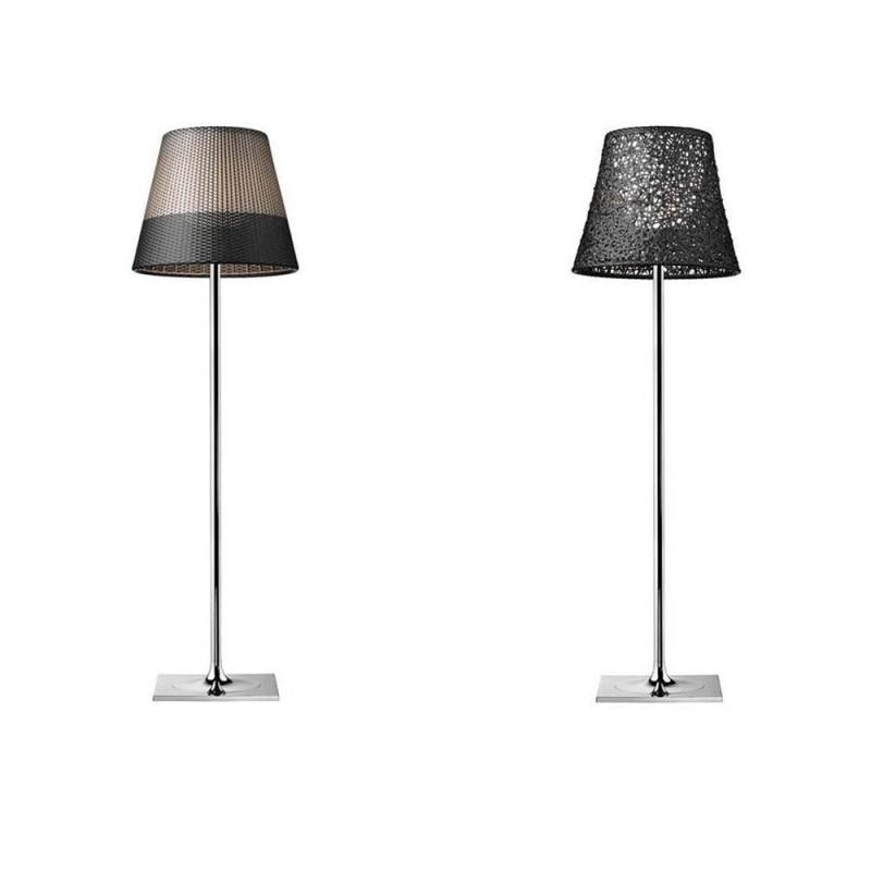 Flos KTribe F3 Lampada da Terra per Esterno a luce diffusa in alluminio galvanizzato by Philippe Starck