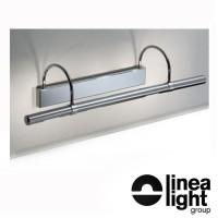 Linea Light 3655 Flue Applique Wall Lamp Chrome 4x20W