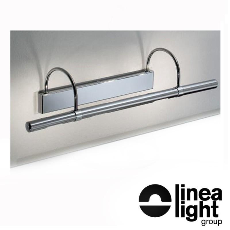 Linea Light 3655 Flue Applique Lampada da Parete Cromo 4x20W