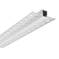 Lampo Aluminum Profile Kit Cut Of Light 2 Meters for False Ceiling NO TRIM