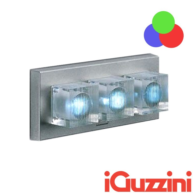 IGuzzini BC26 Glim Cube LED RGB change color Applique wall outdoor