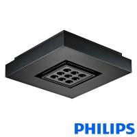 Philips EW Downlight Powercore 9 LED black 2700K lamp plafone