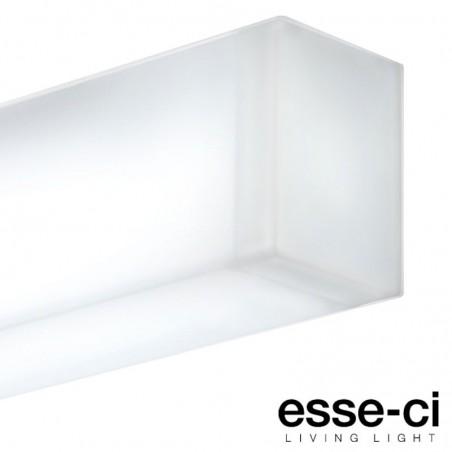 Esse-Ci Semplice 1x24W T16-D 3000K Lampada Plafoniera Soffitto o Parete