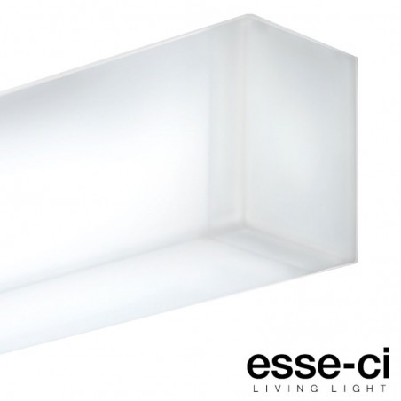Esse-Ci Semplice 1x24W 4000K Lampada Plafoniera Soffitto o Parete