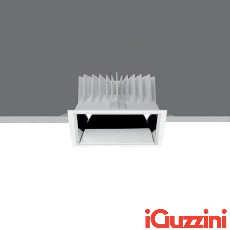 iGuzzini MC08 Reflex LED 27W 3000K Faretto Incasso Quadrato