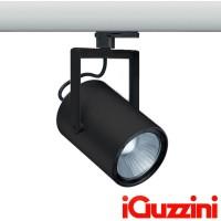 iGuzzini MD38 Front Light 20W 3000K Proiettore da Binario NERO