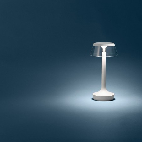 Flos Bon Jour Unplugged LED Table Lamp White F1037009