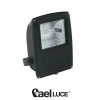 Fael Mach 3 Symmetric floodlight 150W metal halide lamps BLACK RX7s