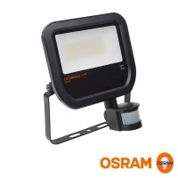 Osram LEDVANCE Floodlight LED 50W 4000K 4750lm Sensore PIR Faretto Esterno IP65