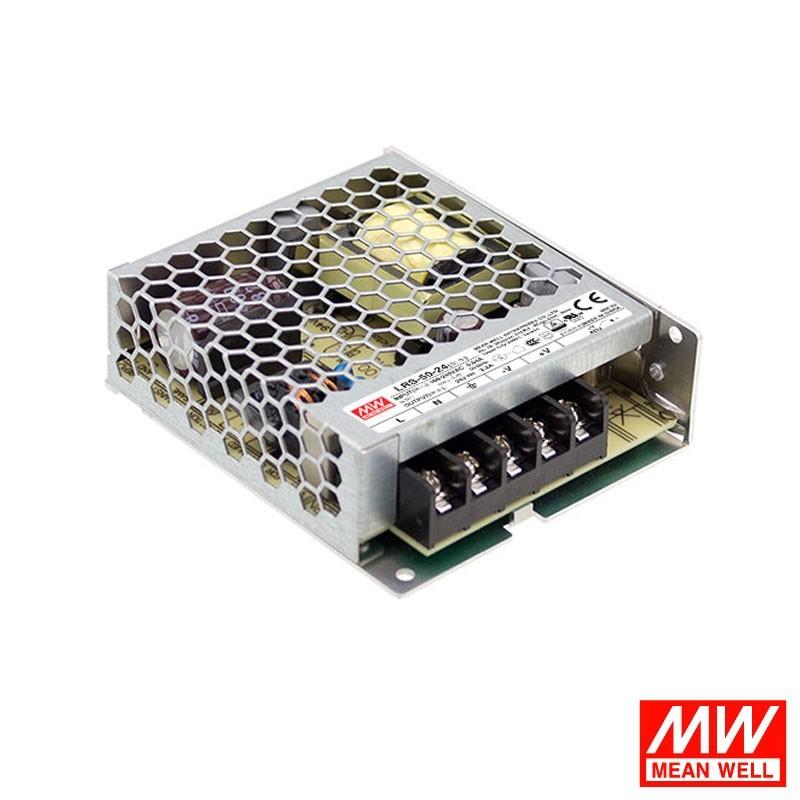 Alimentatore Meanwell LRS-50-12 Power supply 50.4W 12V 4.2A per LED