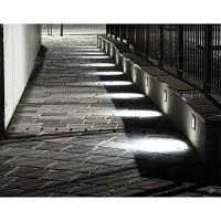 Cariboni FIN XS LED 4W 300lm 3000K Marker Wall Recessed Spotlight Black